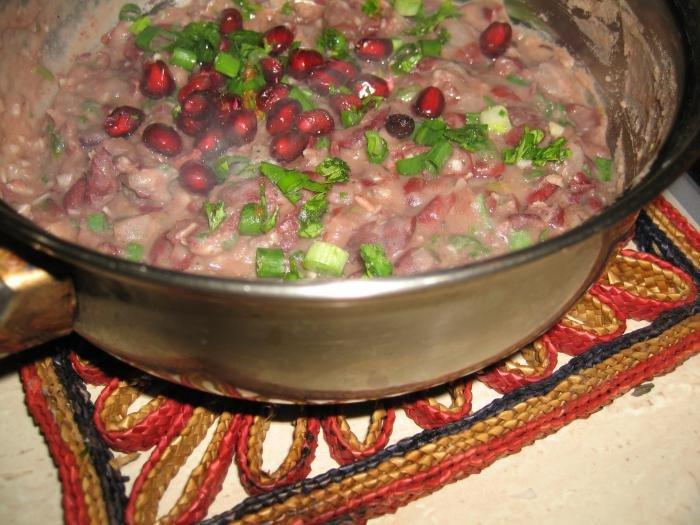 Суп из красной фасоли консервированнойы с фото