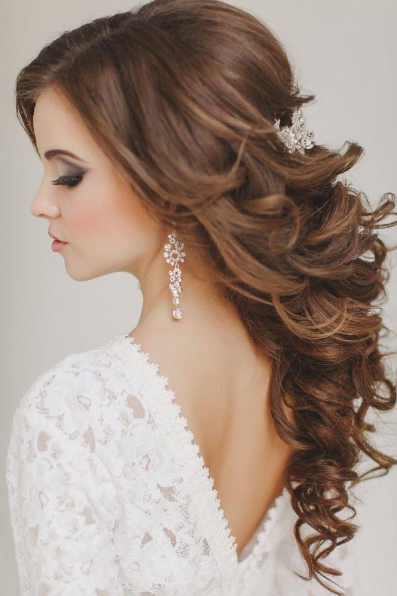 свадебные прически на средние волосы на длинные волосы