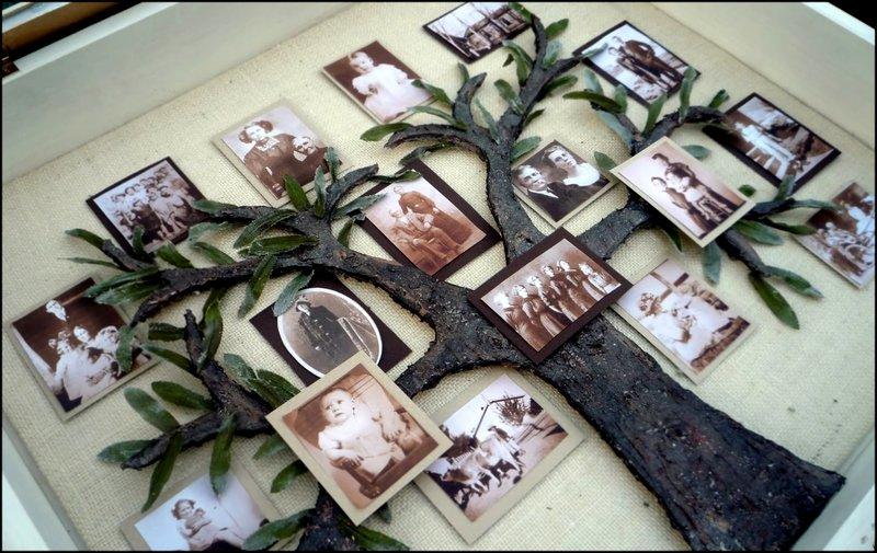 Генеалогического древа семьи своими руками