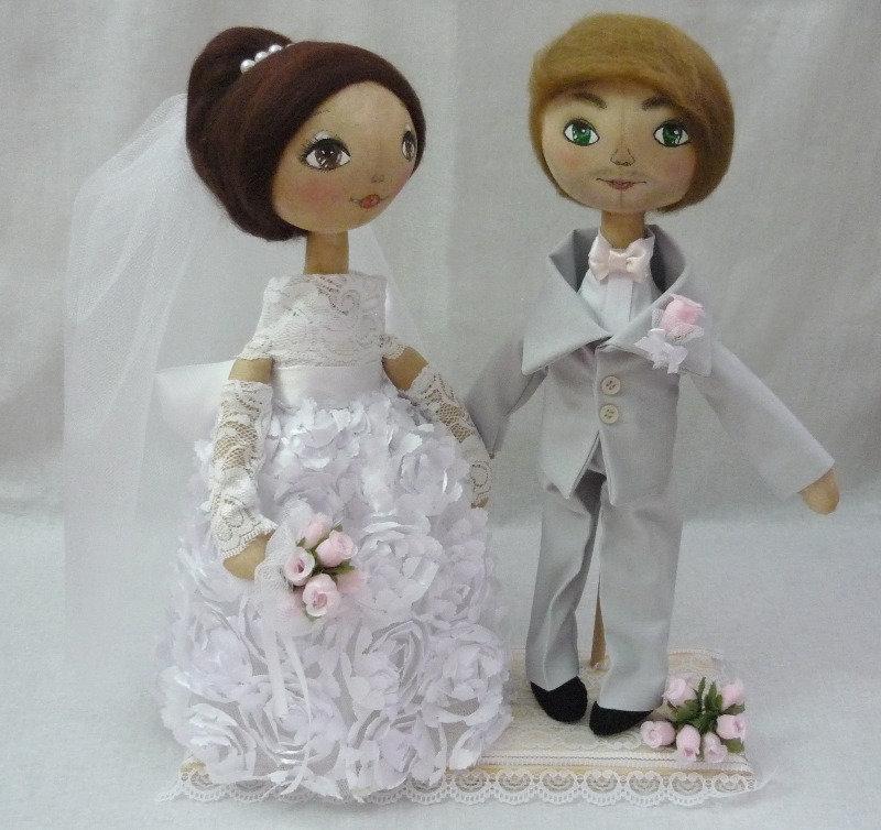 Своими руками невеста и жених кукла сшить 70