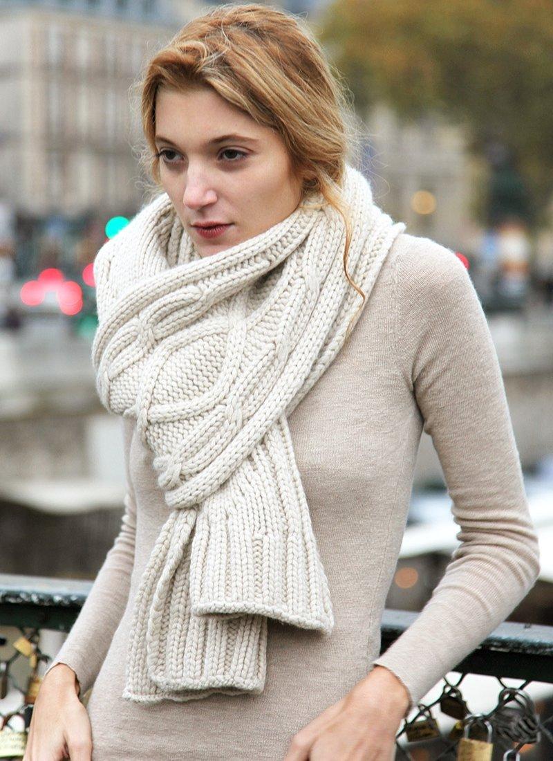 Вязание красивые женские шарфы 80