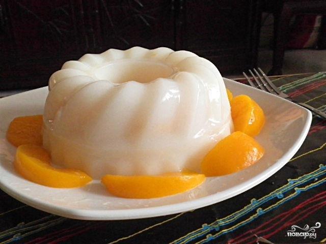 Рецепты сметанного желе в домашних условиях