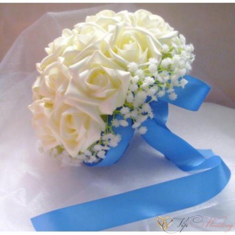 Букет невесты своими руками из искусственных цветов