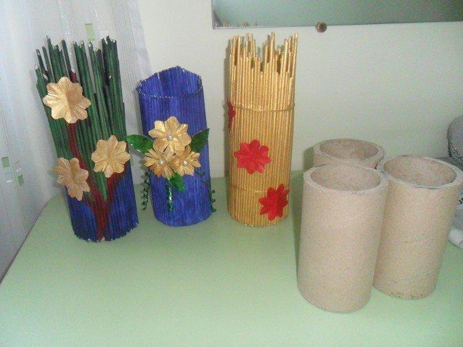 Мастер-класс по изготовлению газетных трубочек - Газетные трубочки для плетения своими руками: мастер-класс