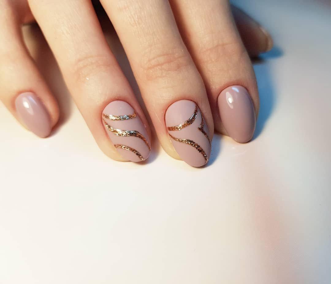 Маникюр Короткие Ногти Классический Дизайн