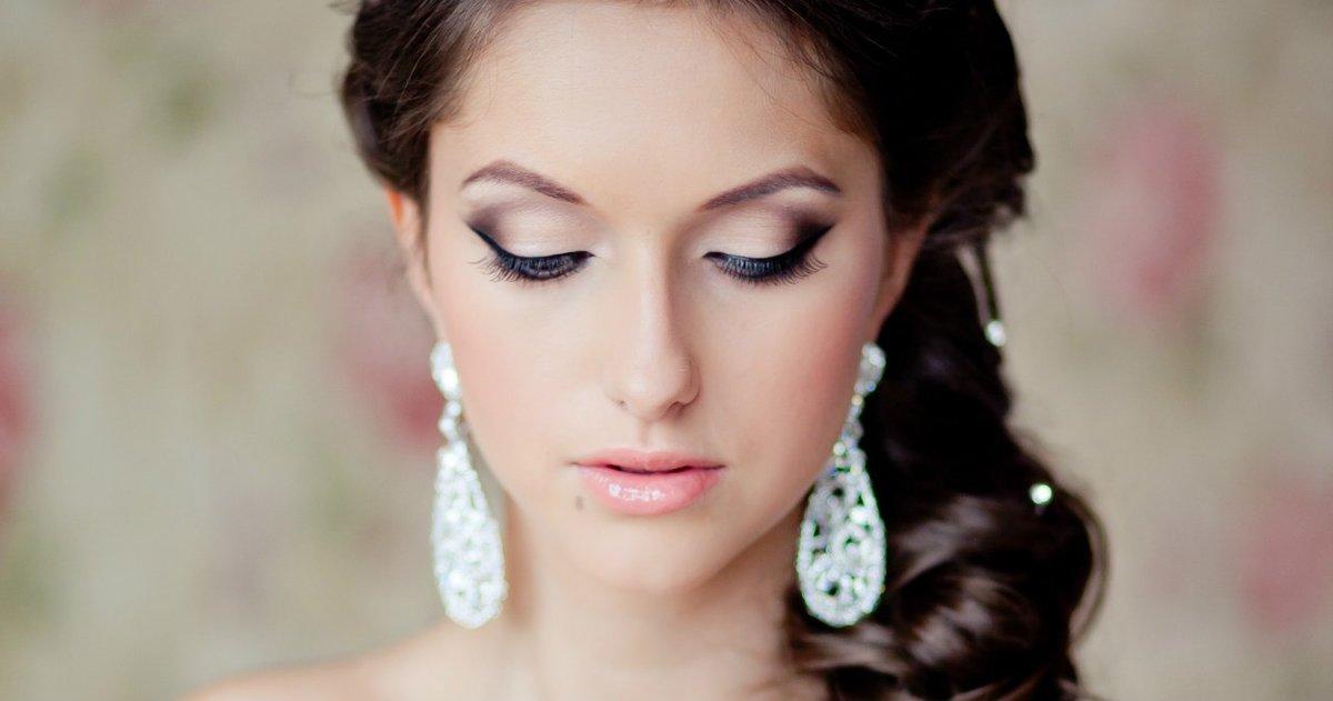 Простой макияж для свадьбы