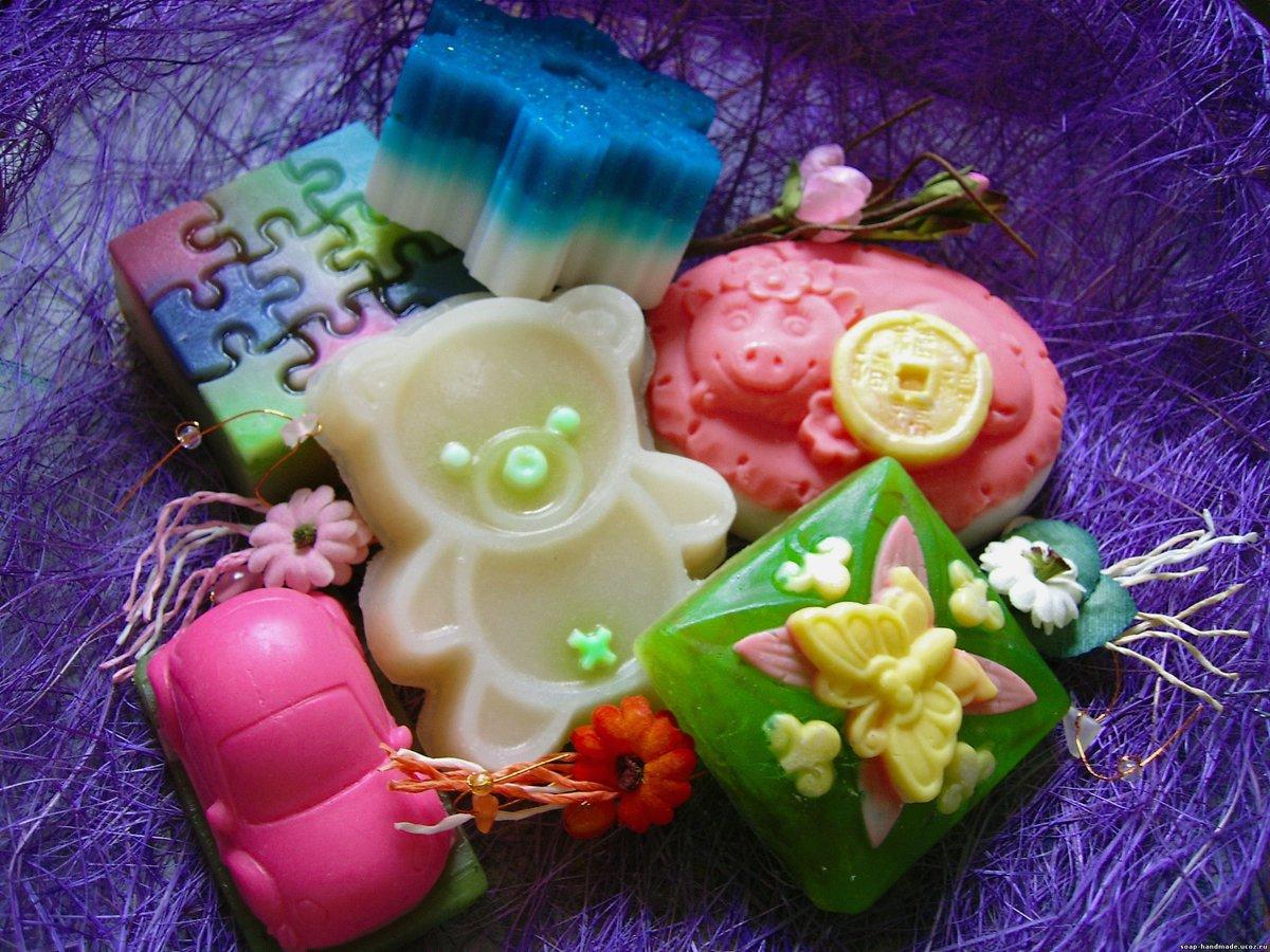 Ручное мыло своими руками из детского мыла