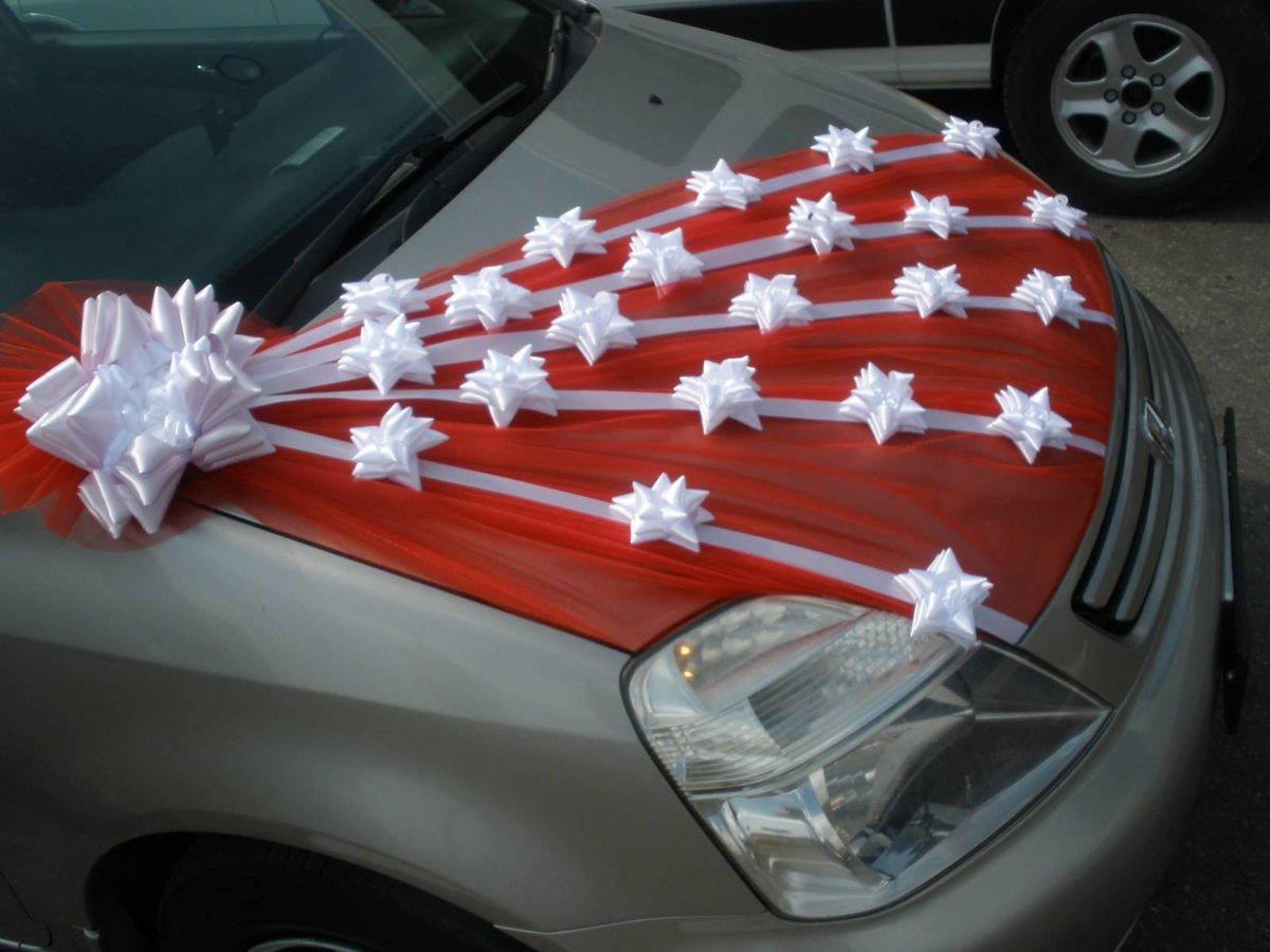 Как сделать своими руками украшения на машину свадьбу 94