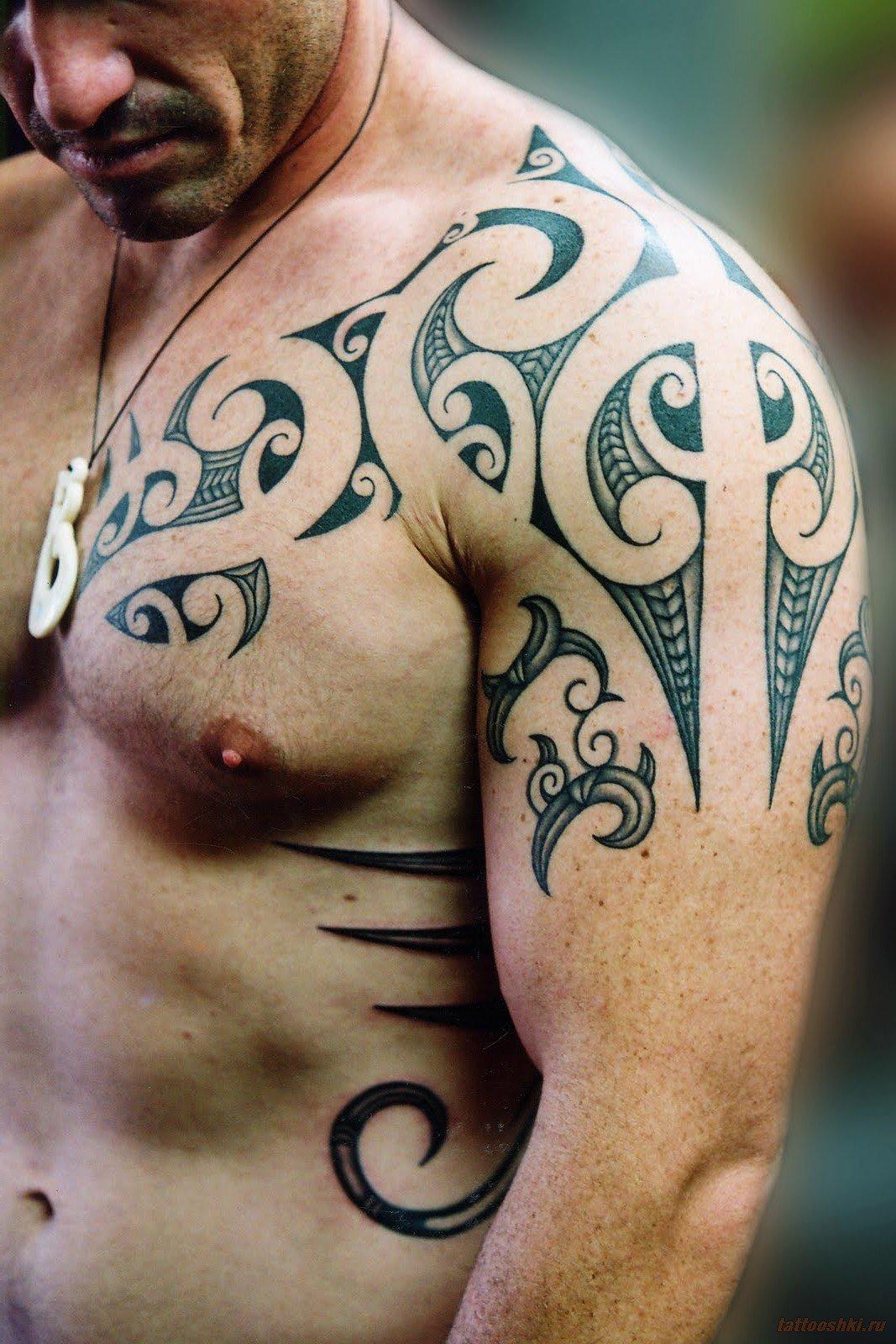 Татуировки для мужчин в фото