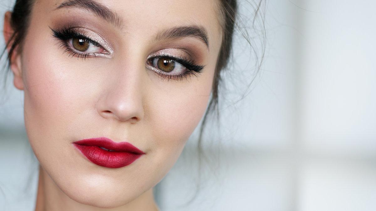Красивый макияж на работу фото