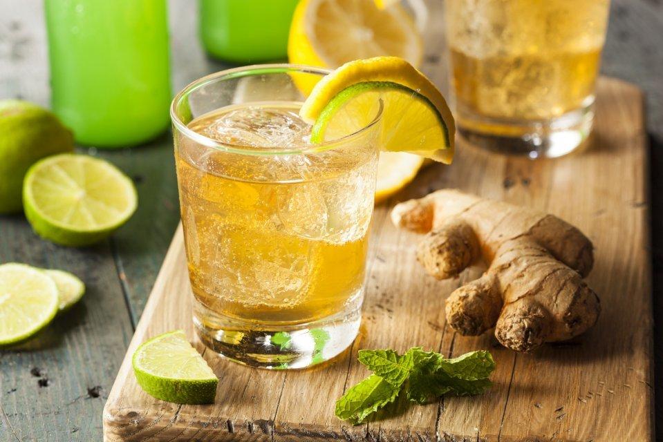 Как сделать напиток с имбирём