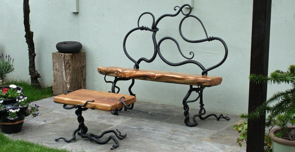 Мебель из металла своими руками удачные самоделки фото