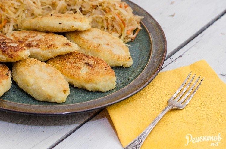 Картофельные пирожки с капустой рецепты
