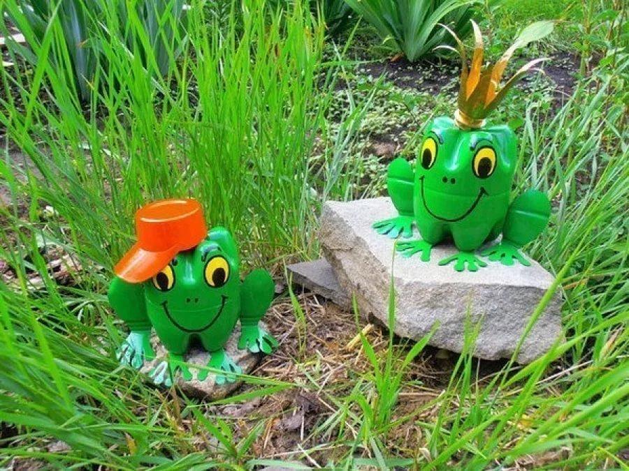 Лягушка своими руками в саду
