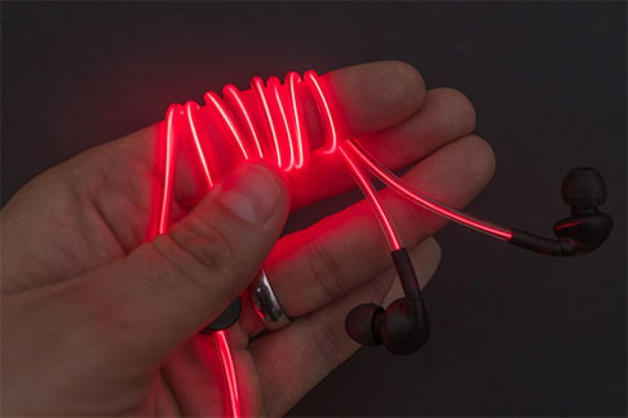 Как сделать чтобы светящиеся наушники светились 52