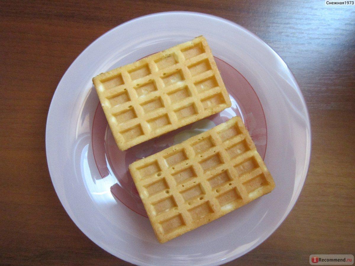 Вафли в вафельнице с маргарином рецепт пошагово