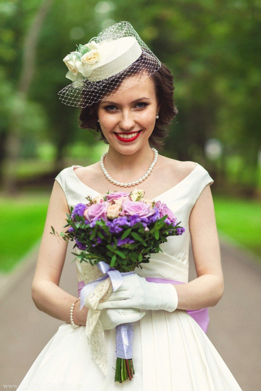 Шляпка для свадьбы 135