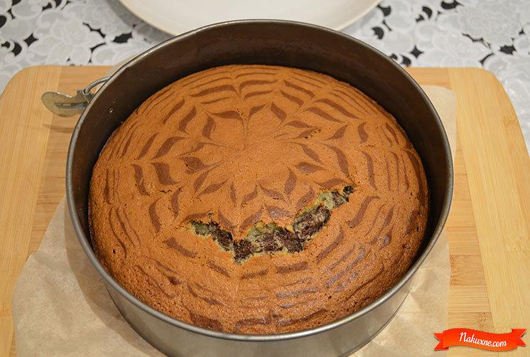 Пирог зебра рецепты простые в домашних условиях
