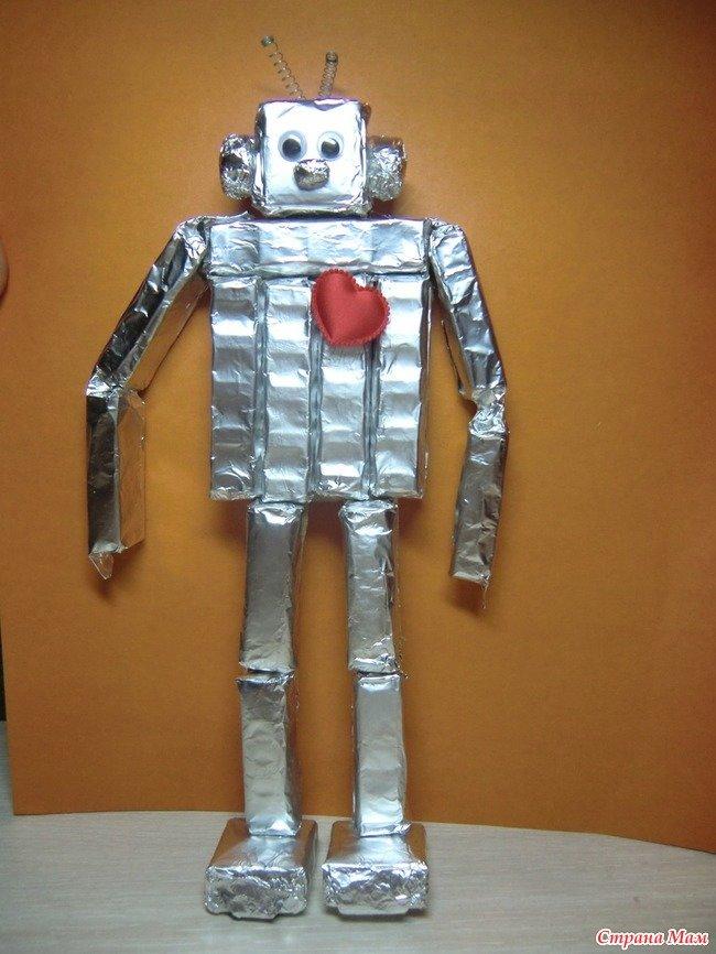 Сделать робот своими руками 15