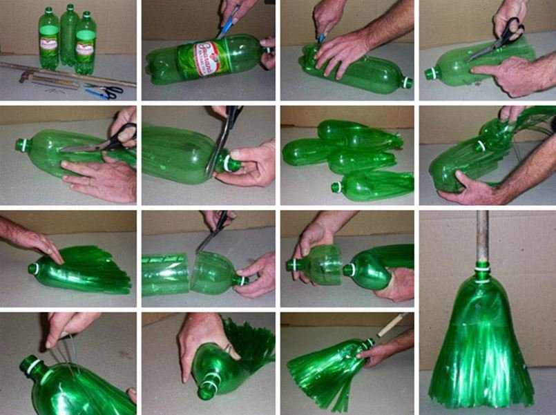 Картина своими руками из пластиковых бутылок своими руками 2
