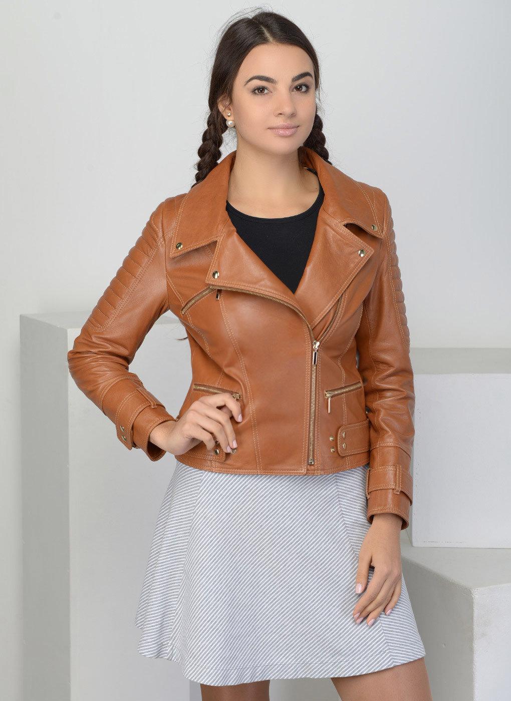 Косуха коричневая женская