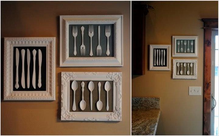 Рамки для фото на кухню своими руками 429