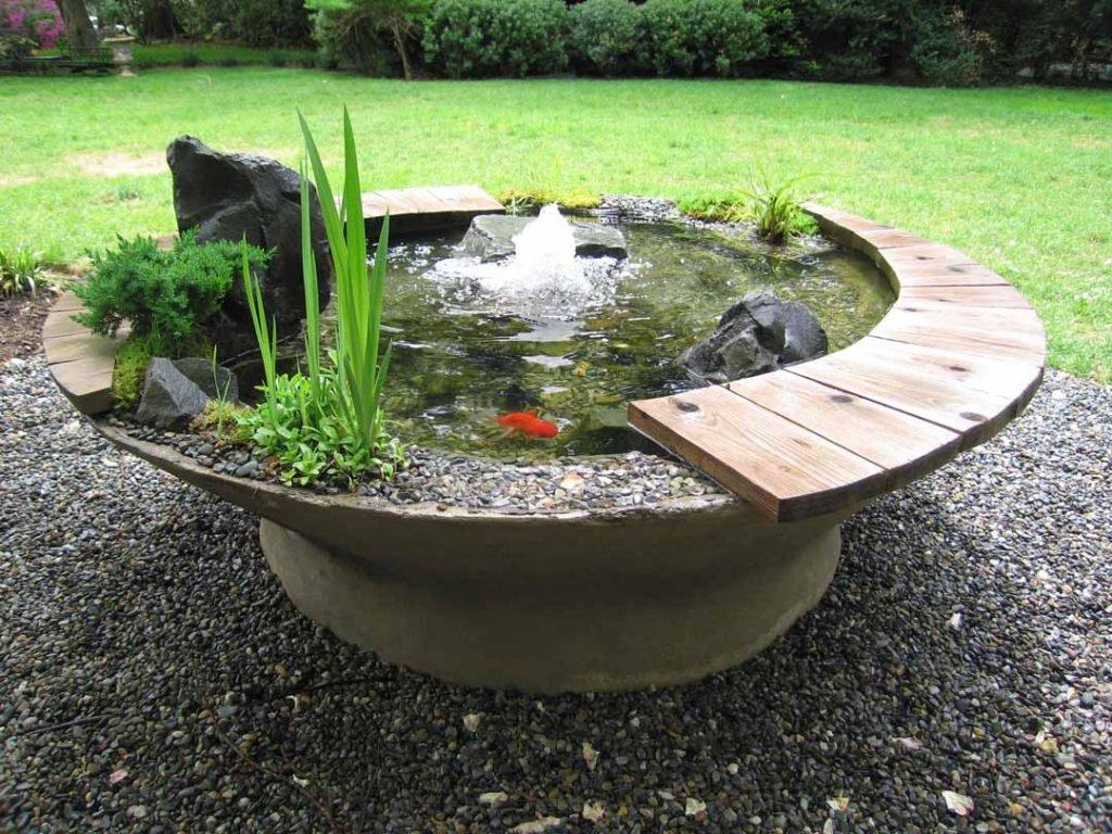 Из бетона своими руками для дизайна сада 518