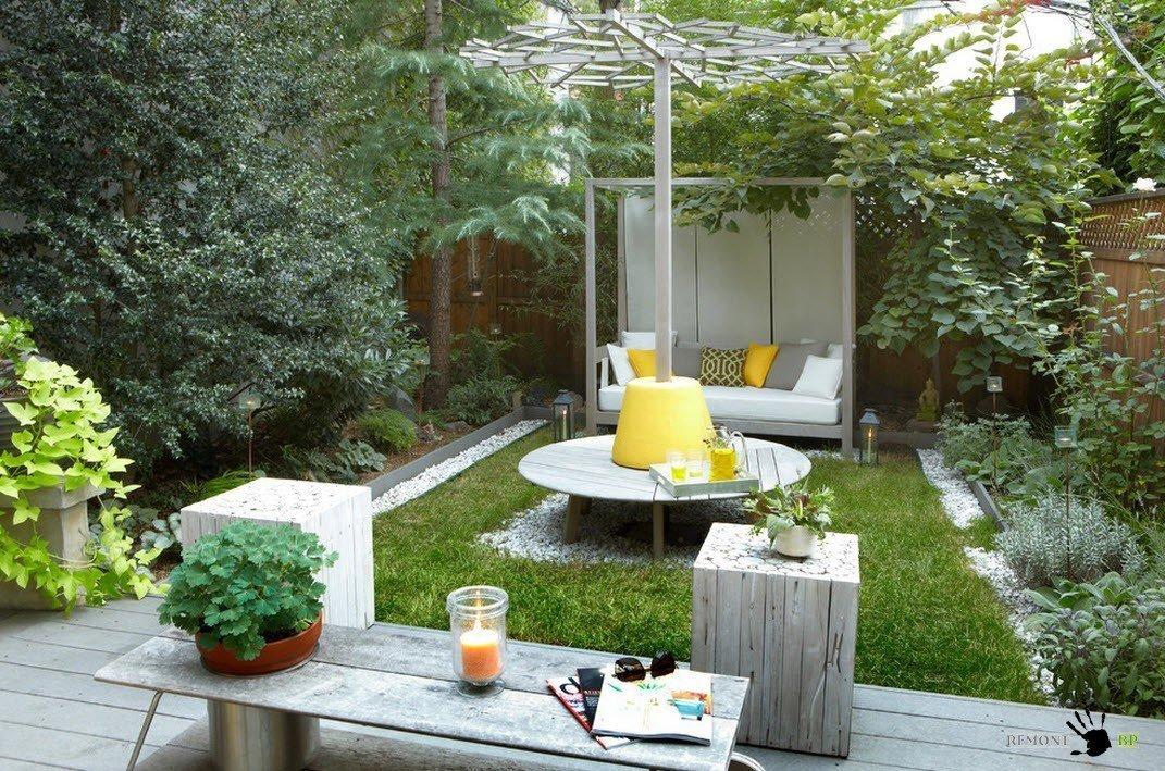 Идеи красивого двора частного дома своими руками фото 68