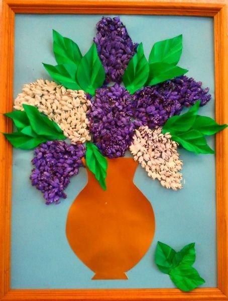Поделки из семечек своими руками для детей в детский сад 19