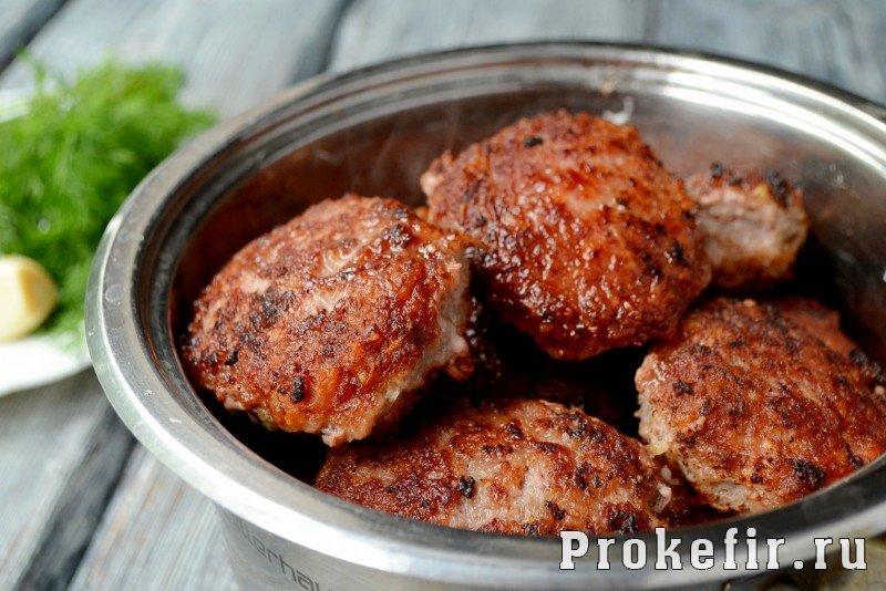 Биточки из говядины рецепт в духовке рецепт 8