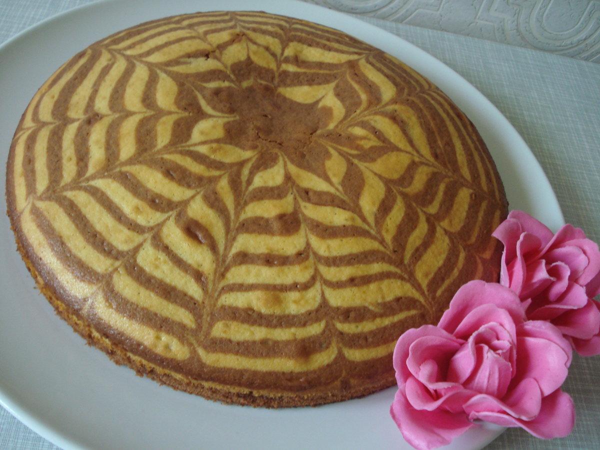 Зебра торт рецепт с пошагово простой рецепт