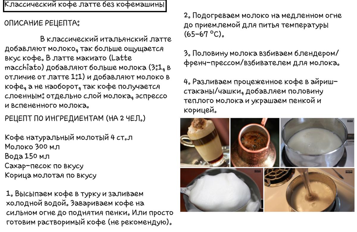 Рецепт кофе в домашних условиях 116