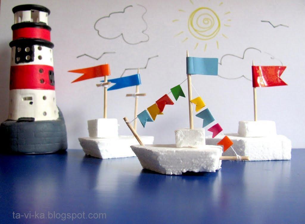 Для детей корабли своими руками из 538