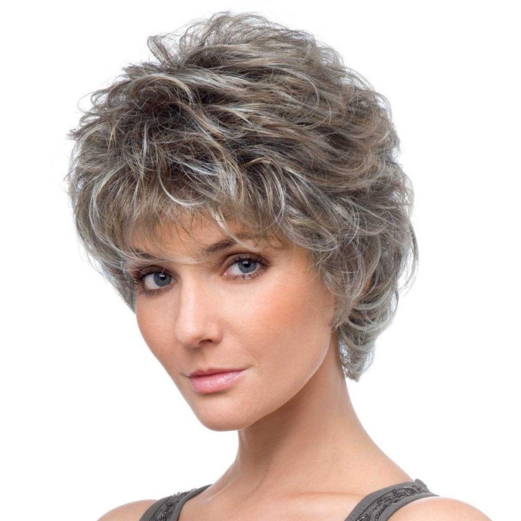 Короткие стрижки женские для тонких и вьющихся волос
