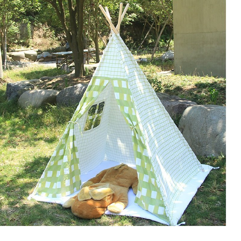 Как сделать палатку на улице своими руками 2