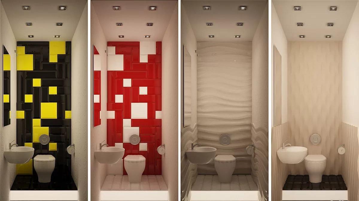 Туалет большой дизайн