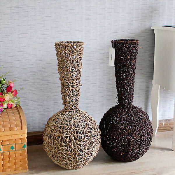 Поделка в виде вазы 267