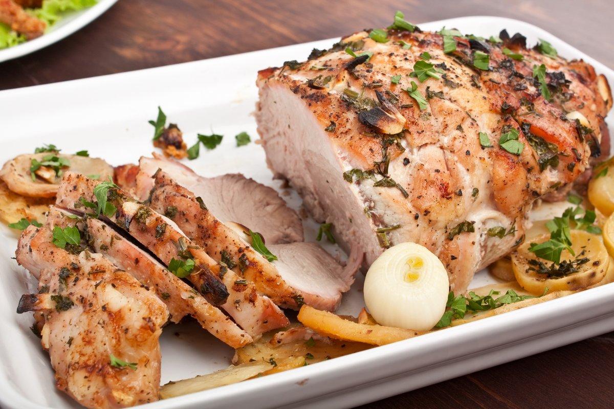 Рецепт отбивной из свинины с вином
