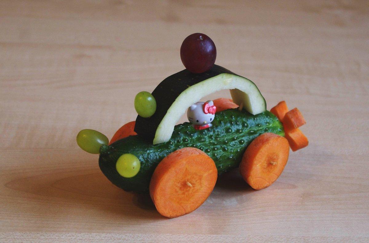 Овощи фрукты поделки 54