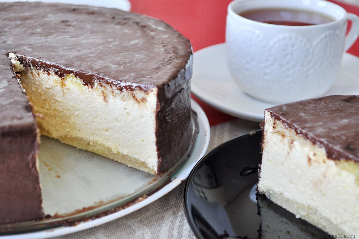 """Торт """"Птичье молоко"""" в домашних условиях, пошаговый рецепт"""
