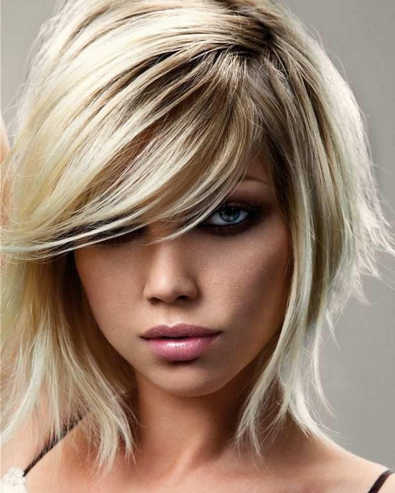 Стрижки на осветленных волосах