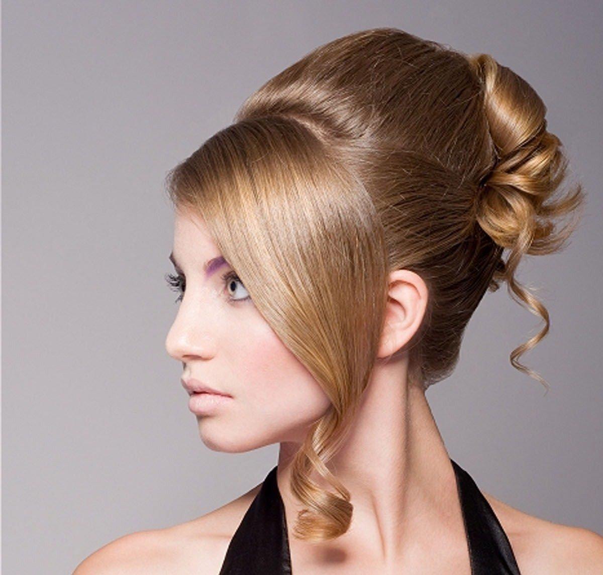 Прически вечерние на длинные волосы фото начесы
