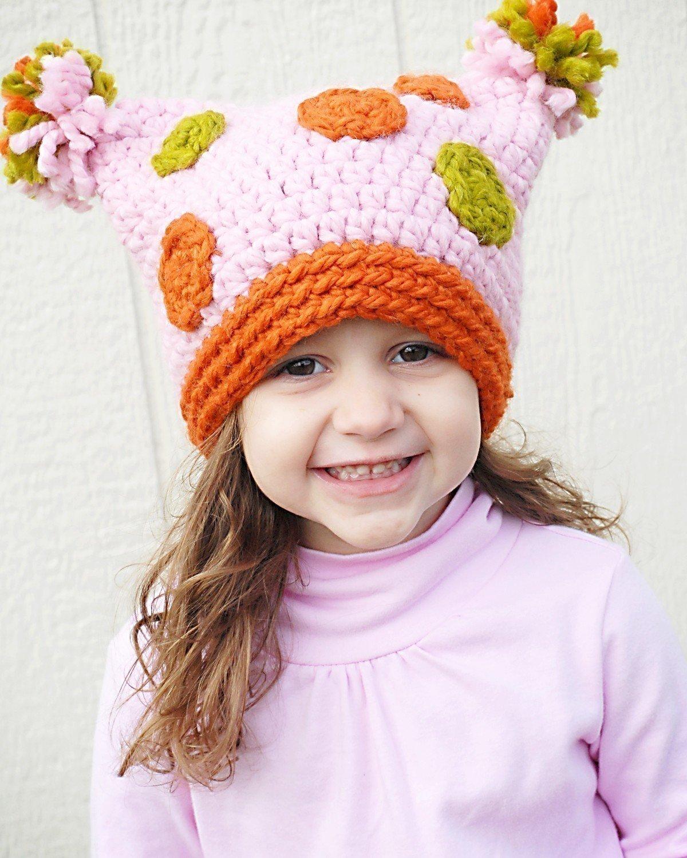Шапки вязания детских шапочек 539