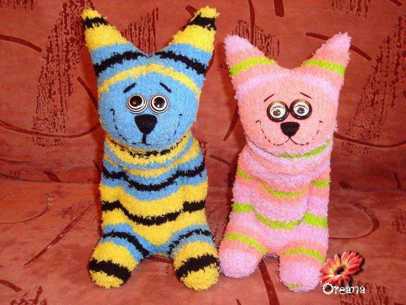 котики из носков своими руками - карточка от пользователя Наталья Шкурко в Яндекс.Коллекциях