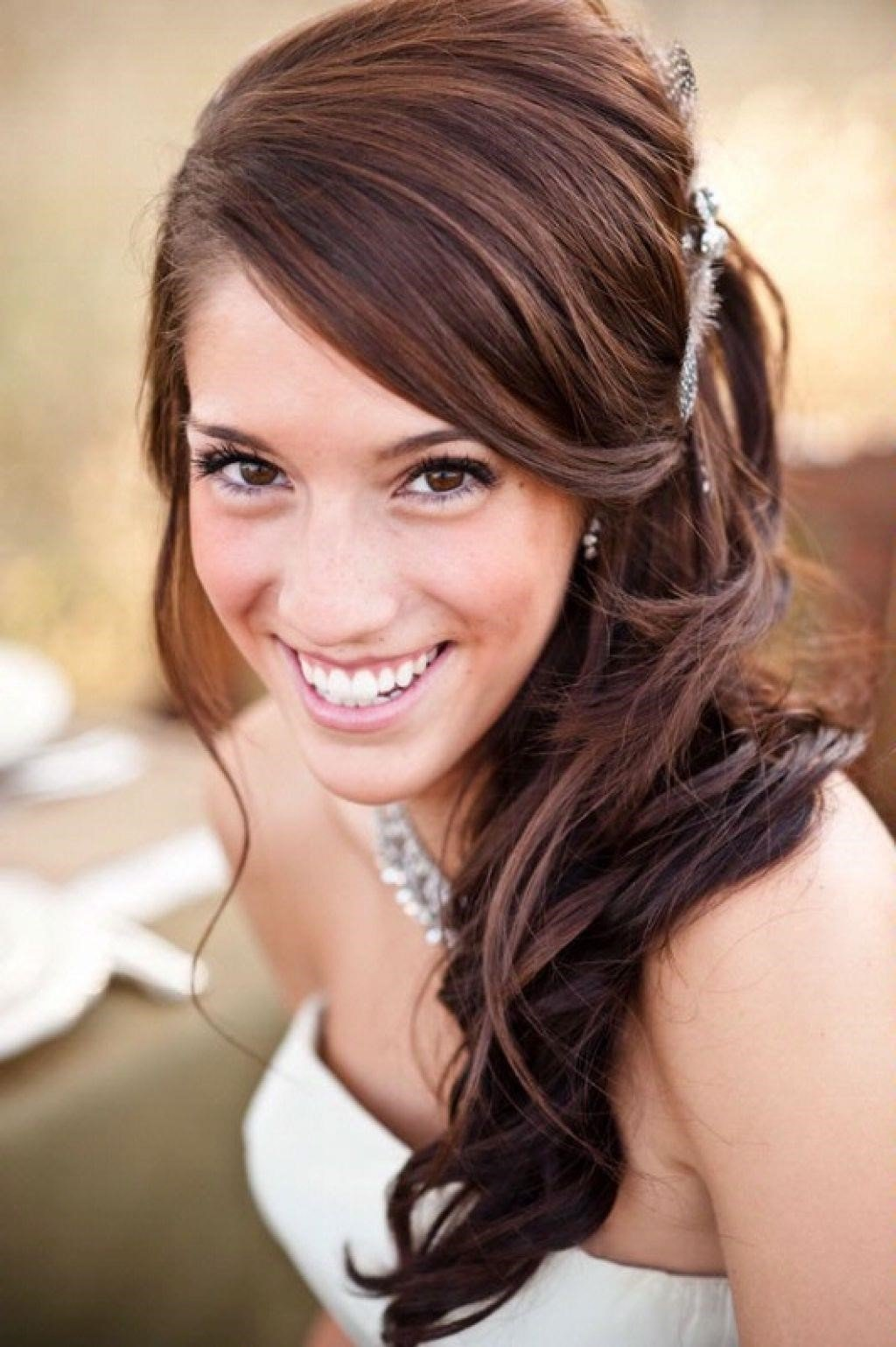 Все фото свадебных причесок на боку