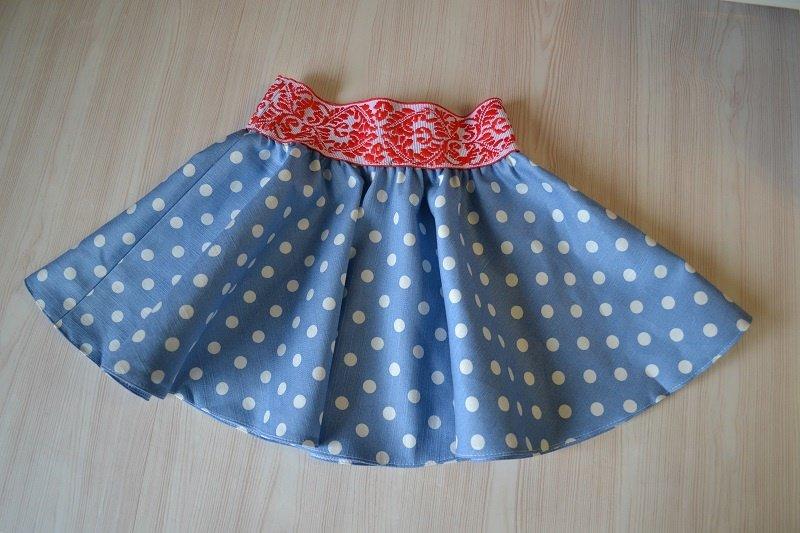Как сшить юбку на резинке для девочки своими руками фото 90