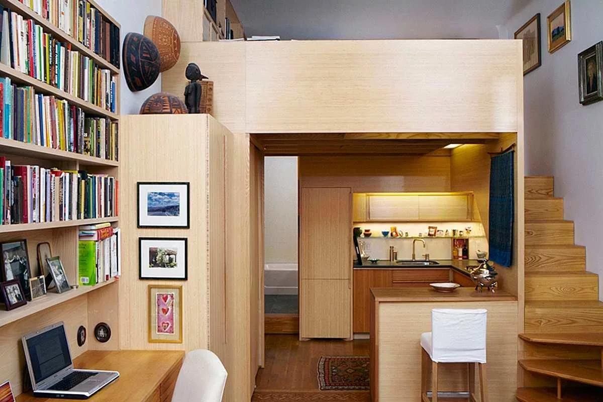 Фото дизайна интерьера малогабаритной квартиры