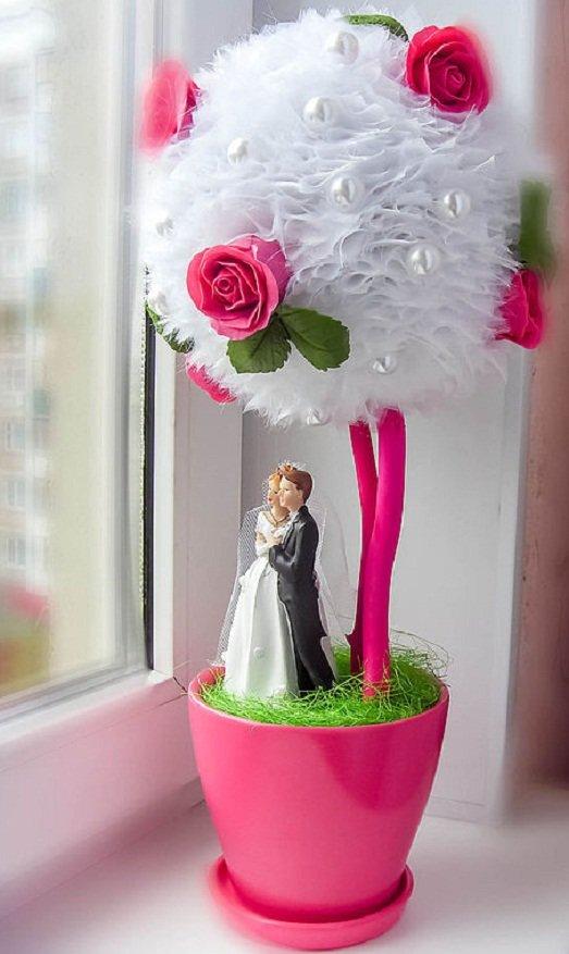 Свадебный топиарий своими руками фото 100