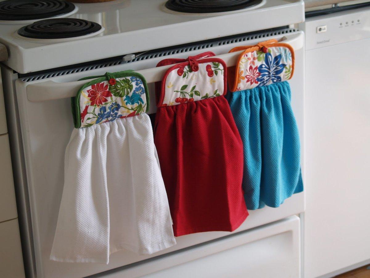 Сделать полотенце своими руками