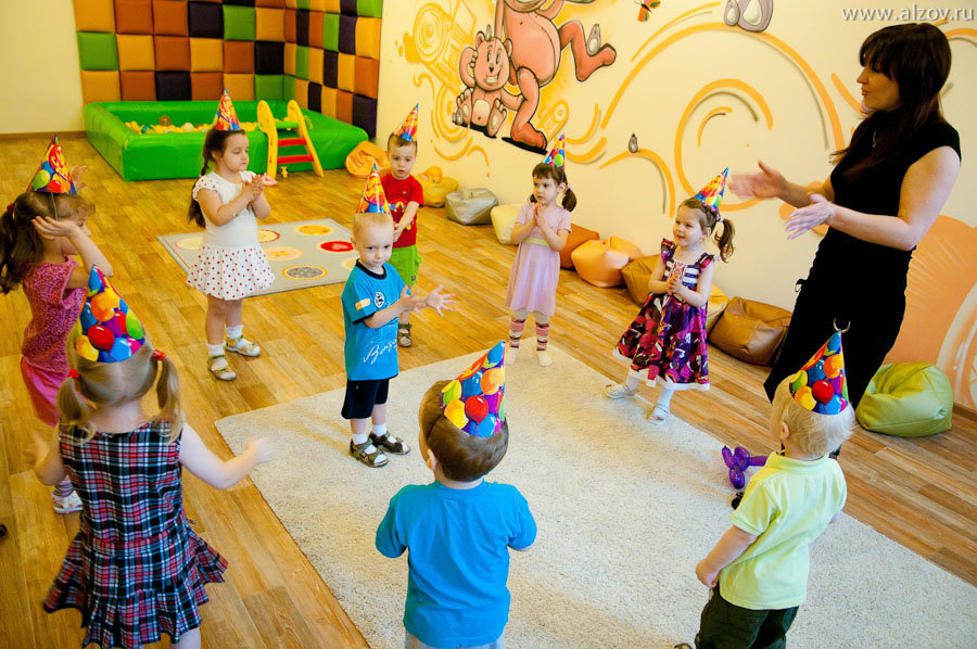 Хоровод поздравление с днем рождения в детском саду